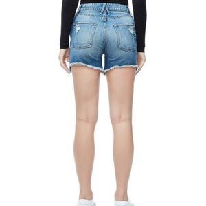 Good American Shorts - NWT Good American High Rise Bombshell Shorts 10 30